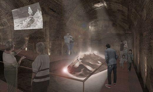 Kasematten als Herzstück des neuen Museums