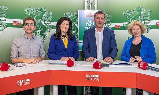 Diskussion ab 18.30 Uhr: mit Krotzer, Riener, Meißl und Gigler.