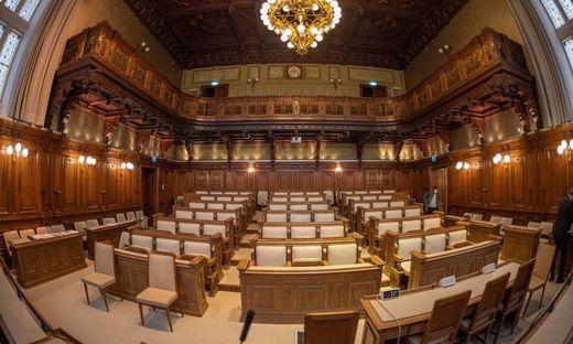 Der historische Grazer Gemeinderatssitzungssaal