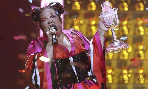 Netta Barzilai holte den Song Contest im Vorjahr nach Israel