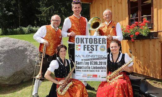 Der Musikverein Glantal Liebenfels freut sich auf die Gäste