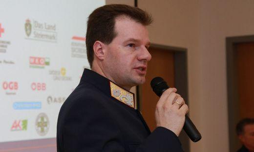 Polizeidirektor Gerhard Ortner
