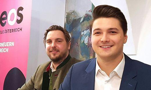 Markus Lindner (links) könnte sich eine obersteirische Statutarstadt vorstellen