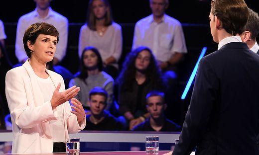 Rendi-Wagner beim Duell mit Kurz