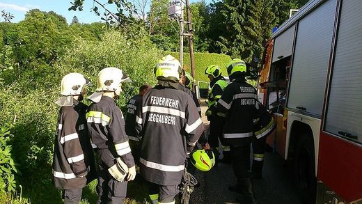 22 Mitglieder der Feuerwehr Seggauberg rückten aus