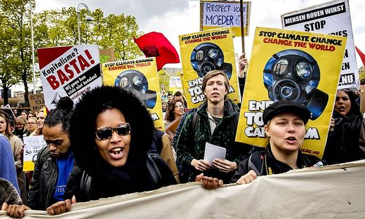NETHERLANDS-CLIMATE-RALLY