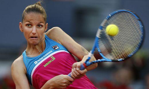 Pliskova schlägt aus Wut Loch in Schiedsrichterstuhl