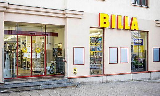 Die betroffene Billa-Filiale in der Mürzzuschlager Innenstadt