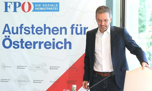 Herbert Kickl, Ex-Innenminister und nunmehr FPÖ-Klubobmann