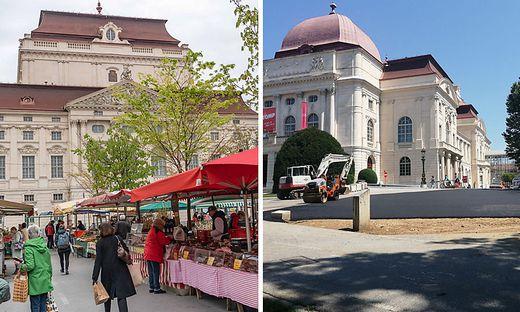 Bauernmakr Kaiser-Josef-Platz Oper