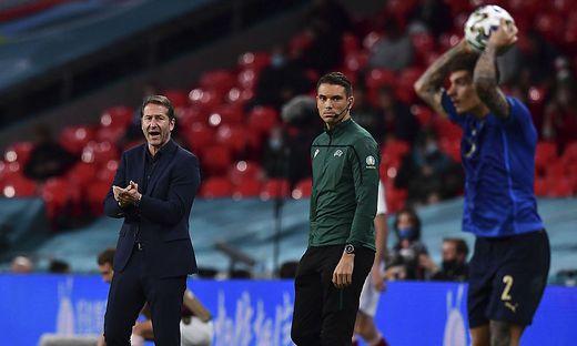 Franco Foda spendet den Italienern Beifall