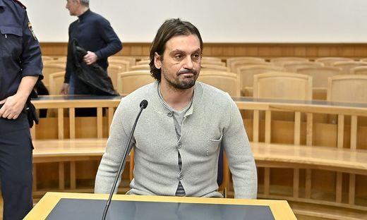 Sanel Kuljic auf der Anklagebank im Wiener Landesgericht