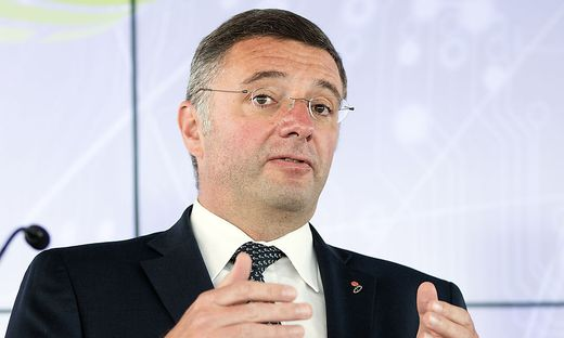 Verkehrsminister Jörg Leichtfried