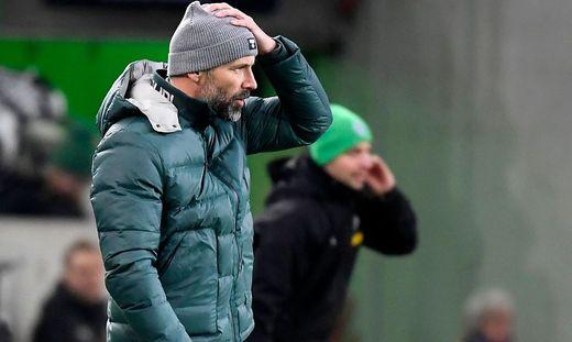 Marco Rose und Gladbach müssen in der Europa League den Hut nehmen