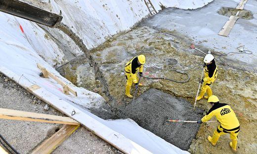 Die Bauarbeiter bekommen ab 1. Mai mehr Geld