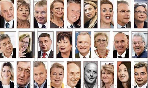 (Vize-)Kanzler, Minister und Staatssekretäre