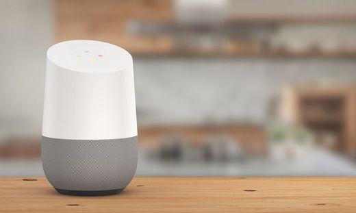 "Googles vernetzter Lautsprecher ""Home"""
