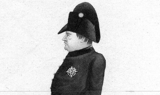 Napoleon Bonaparte in der Verbannnung in St. Helena