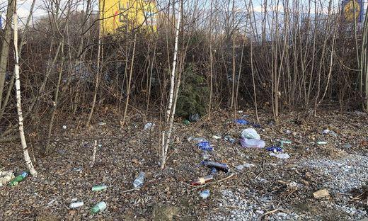 So sah es am 10. Februar auf dem Grundstück in Fohnsdorf aus