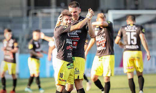 Lafnitz gewinnt gegen die Juniors aus Oberösterreich