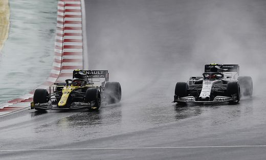 Qualifying in Istanbul wegen Regens unterbrochen