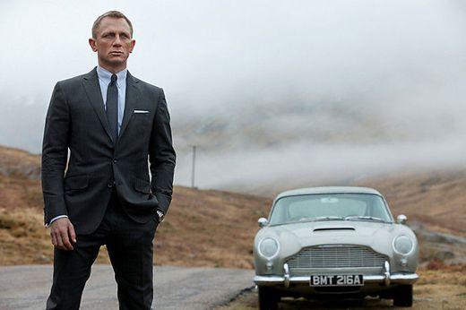 """Daniel Craig in """"James Bond 007 - Skyfall""""."""