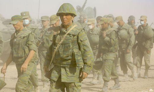 Sorge auch um die ehemalige Sowjetrepublik Tadschikistan