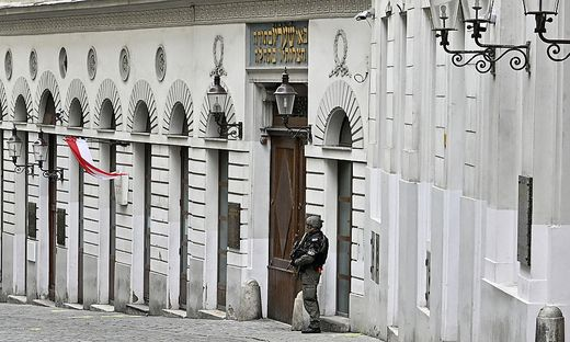 Jüdische Synagoge in Wien: Die Israelitische Kultusgemeinde muss viel Geld in die Sicherheit investieren.