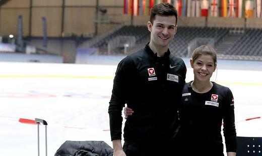 Miriam Ziegler (25) und Severin Kiefer (29)
