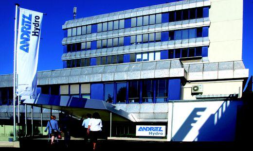 Die Andritz Hydro erwartet einen mittelfristigen Rückgang des Geschäftsvolumens