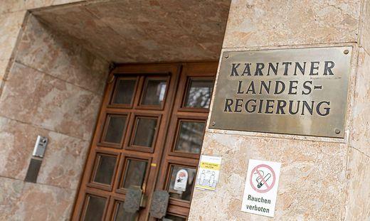 Sujet Gebaeude Landesregierung Klagenfurt April 2021