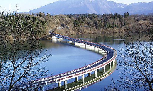 Die Generalsanierung der Völkermarkter Stauseebrücke ist auf Sommer 2020 verschoben