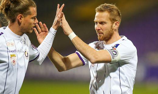Markus Rusek (rechts) wird ein Athletiker