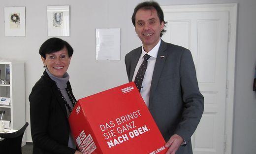 Elfriede Säumel und Alexander Sumnitsch gehen mit großer Zuversicht in die nächsten Monate