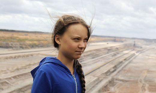 Die schwedische Klimaaktivistin Greta Thunberg