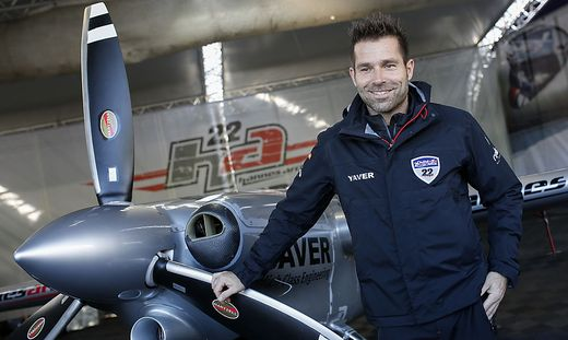 Hannes Arch beim Air Race 2014