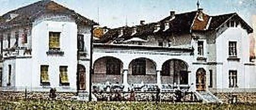 Das Sanatorium von Karl Feiler wurde 1971 umgebaut
