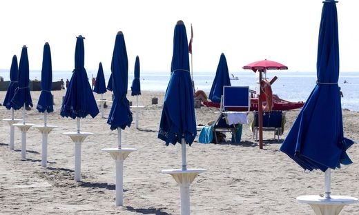 ITALY BEACH STRIKE