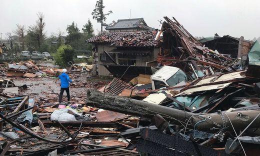 Nach Taifun Hagibis