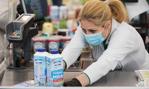 Bald wieder Maskenpflicht in oberösterreichischen Supermärkten