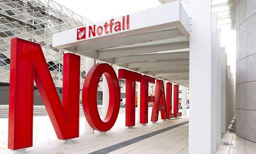 Notfall Krankenhaus Nord Klinik Floridsdorf in Wien �sterreich *** Emergency Hospital North Kl