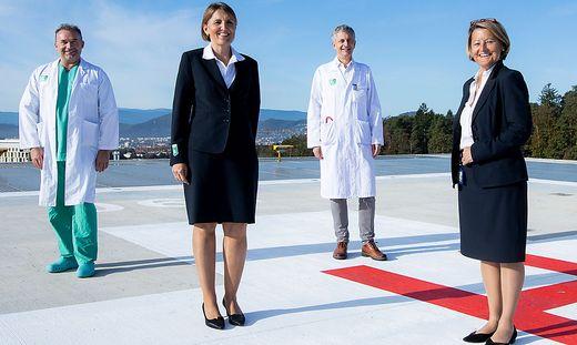 Neuer Hubschrauberlandeplatz für Kinderzentrum
