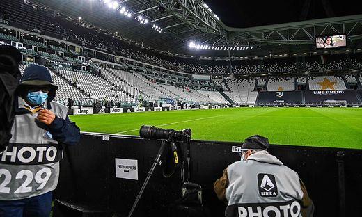 Leeres Juventus-Stadion: Neapel kam nicht nach Turin