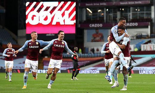 Aston Villa trumpfte auf