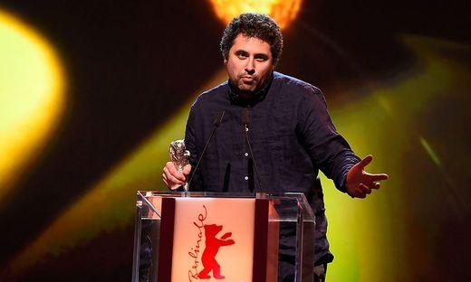 """Drehbuchautor und Regisseur Radu Judes (""""Bad Luck Banging or Loony Porn"""") bei der Berlinale 2015"""