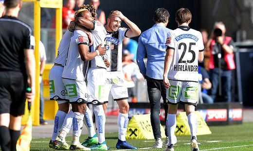 SOCCER - BL, Sturm vs Mattersburg