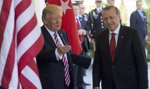 Trump und Erdogan, hier bei einem Treffen 2017