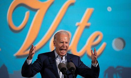 Biden campaigns in battleground state of Florida