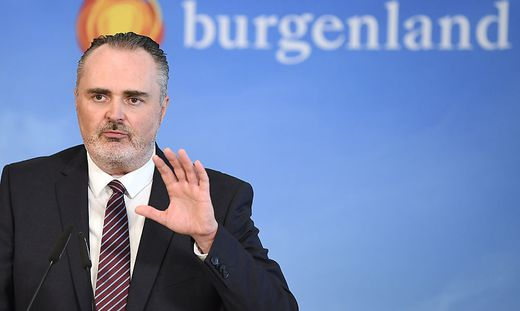 Burgenlands Landeshauptmann Hans Peter Doskozil