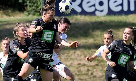 Sophie Maierhofer und der SK Sturm jubelten über den dritten Sieg in Folge